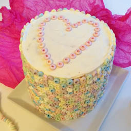 Candy Necklaces Cake