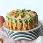 Meine Ostertorte – Carrot Cake mit Cream Cheese Frosting