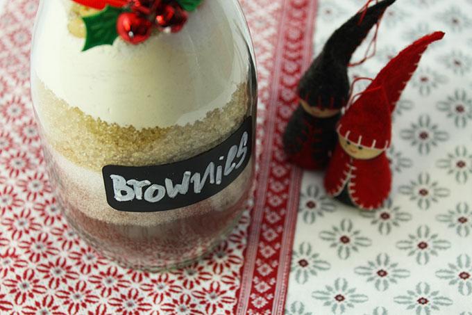 Backmischung Erdnuss Brownies