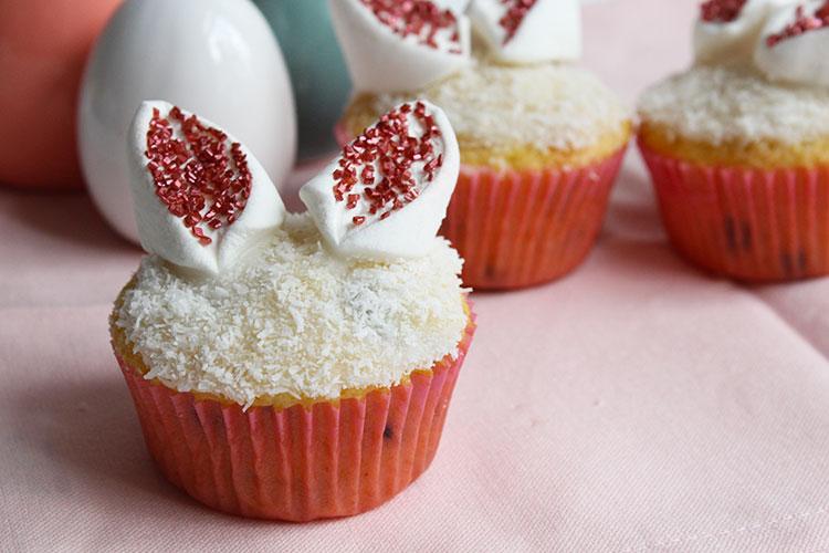 Oster Cupcakes mit Häschenohren