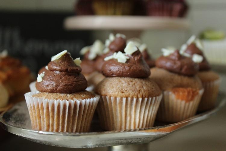 Mini Cupcakes Schokolade