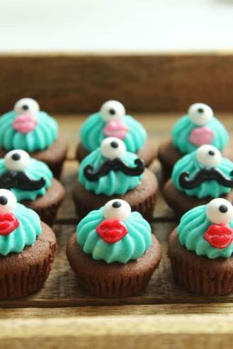 Mini Cupcakes Monster