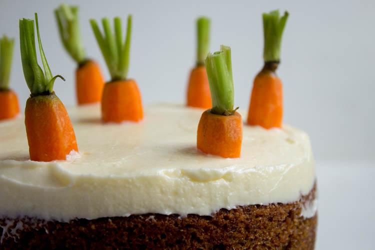 Carrot Cake gluten- & laktosefrei
