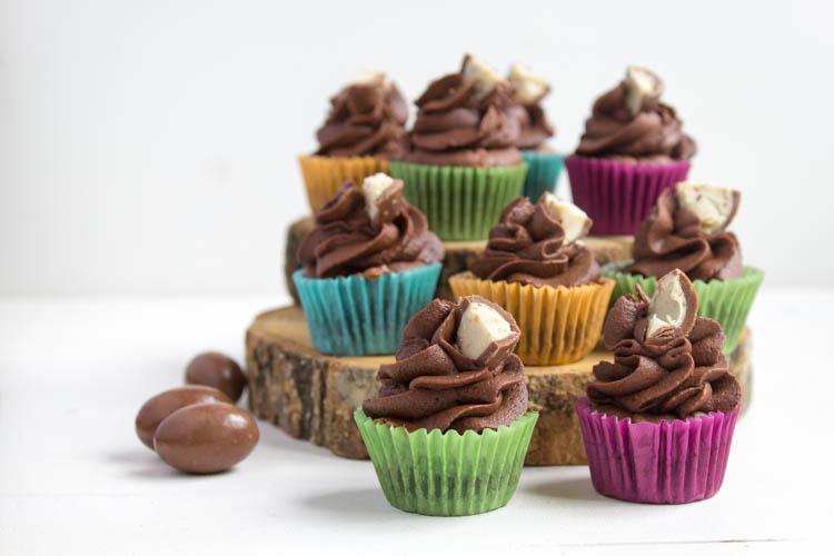 Mini Cupcakes mit Schokobons