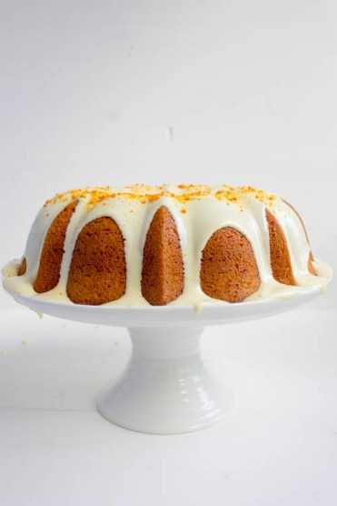 Rezept Orangen Gugelhupf mit weißer Schokolade